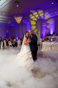 wedding fog